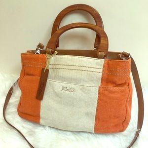 Relic canvas crossbody/handbag